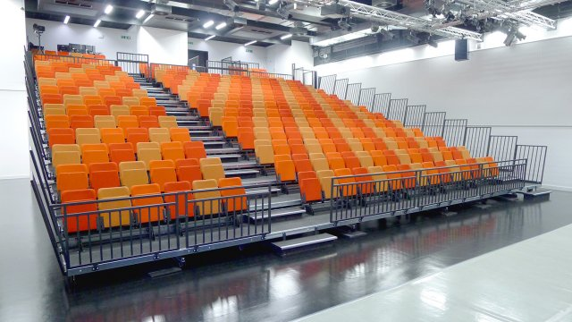 FD 200 seating used at Dagenham Park Academy